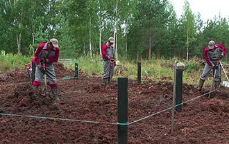 Фундамент для дома на торфяном грунте в Северске. Построить дом на торфяном грунте Северск.